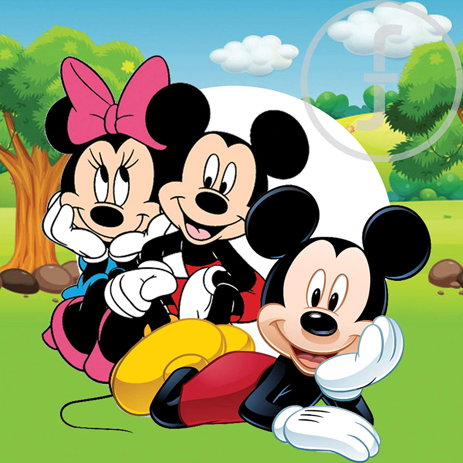 Buy fingerz Mickey Mouse Wall Cartoons Stickers for Home Kids ...