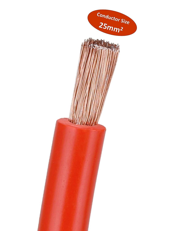 de 6 metros Cable de arranque HGV de 1000 amperios SA Maxx con gran resistencia