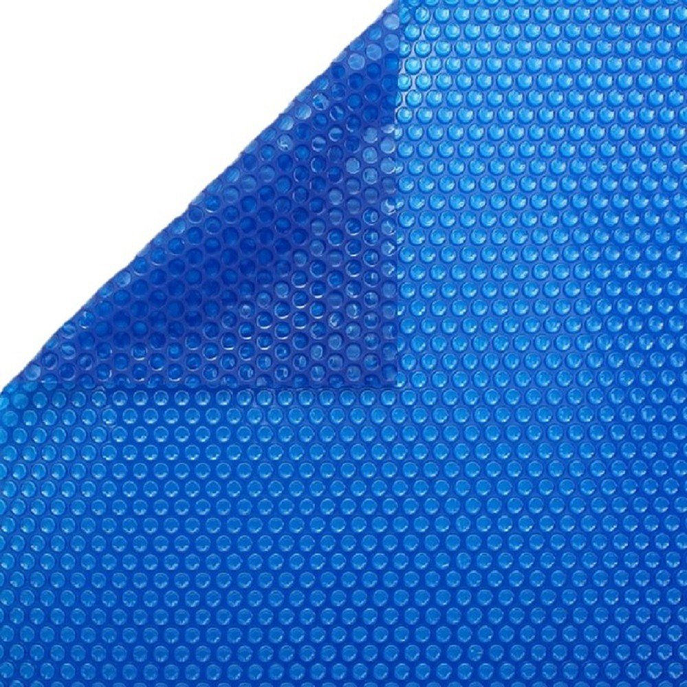 International Cover Pool Summer swimming pool cover Bubble 600 micron 4x4 meters pool (Solar blanket without reinforcement).
