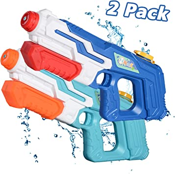 Pistola de agua NextX para niños adultos, paquete de 2 pistolas de ...