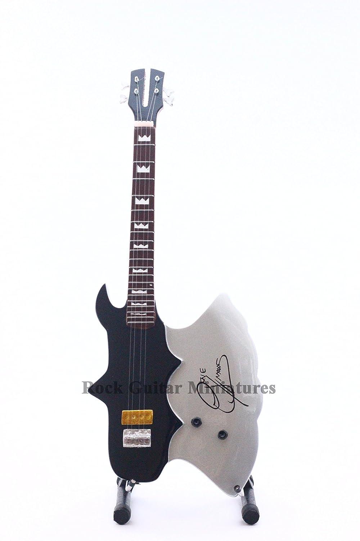 RGM147 Kiss Gene Simmons Axe Guitarra en miniatura: Amazon.es: Iluminación