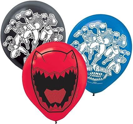Power Ranger Ninja Steel 42 Shaped Balloon Each