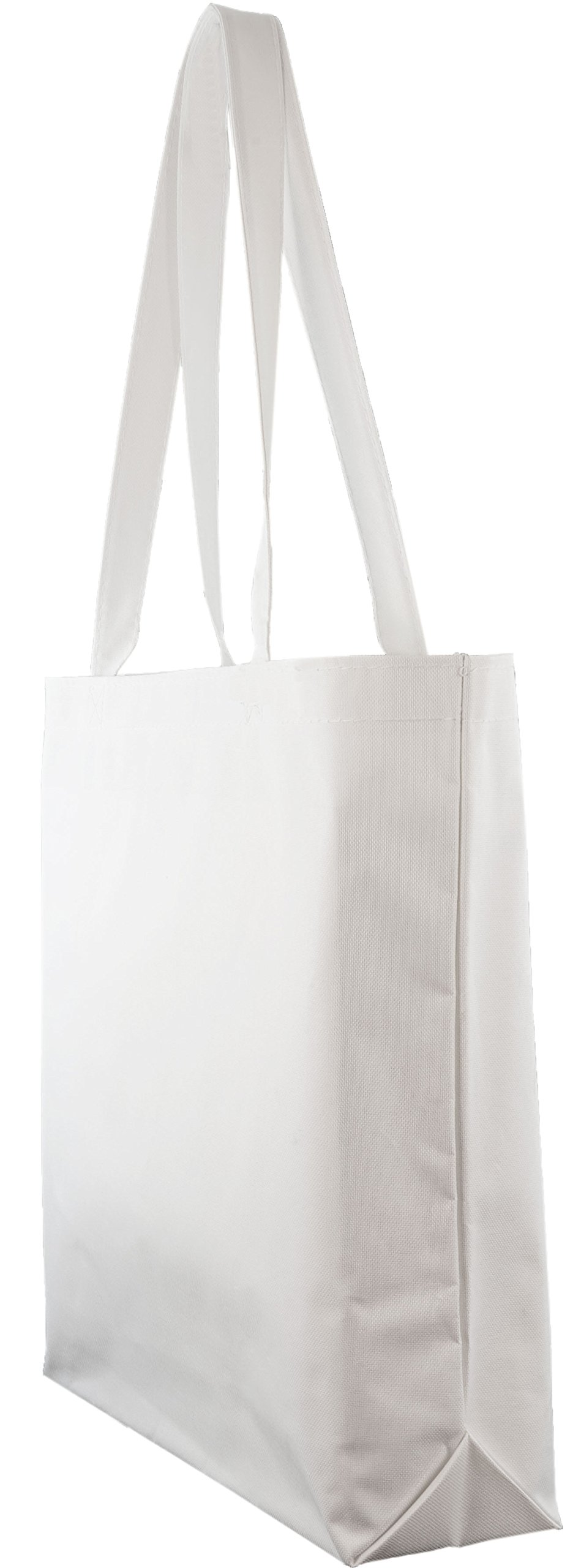 Large Shopping Tote with Shoulder Length Handles (White) by Ensign Peak (Image #2)