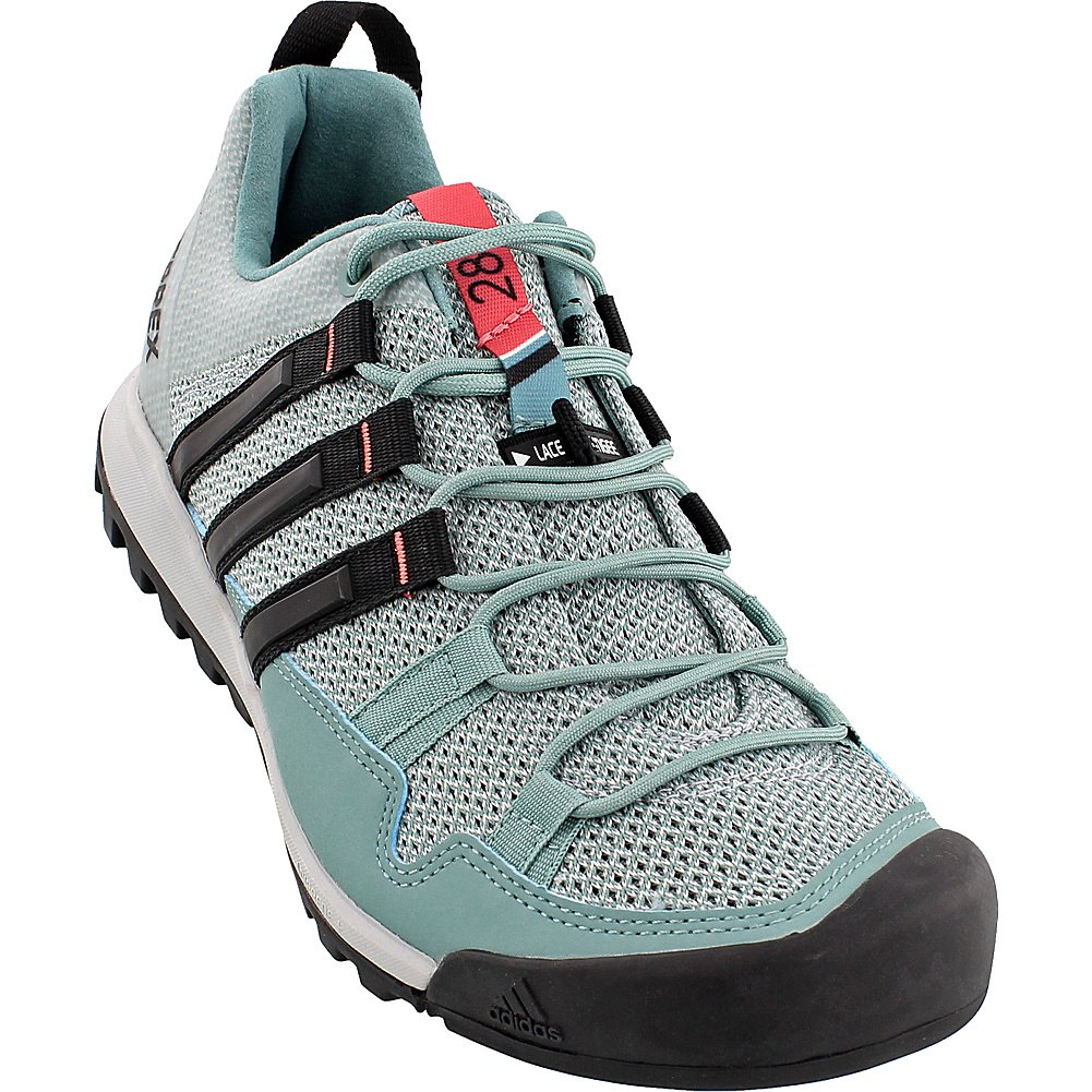 adidas outdoor Women's AX2 Hiking Shoe B01HNFT6PO 8 B(M) US|Vapour Steel/Black/Tactile Pink