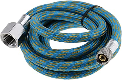 Paasche 8-Foot Nylon Braided Air Hose