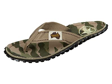 Gumbies Islander Zehentrenner Unisex, Farbe: Camouflage, Größe: 48