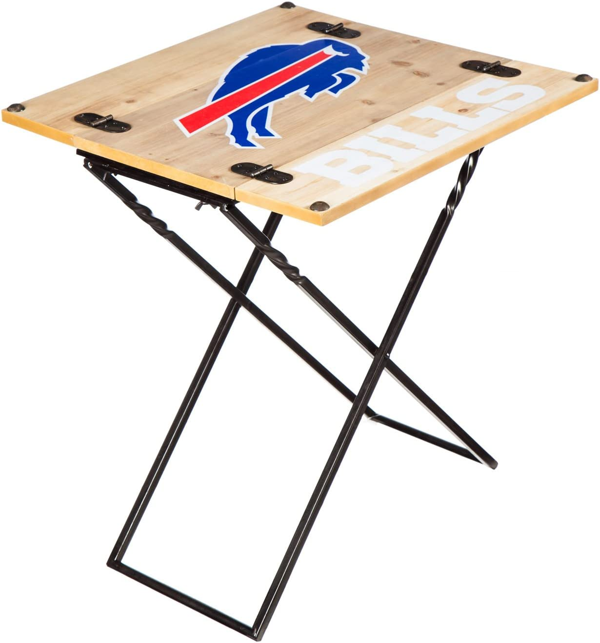 Team Sports America NFL Folding Armchair Table Buffalo Bills