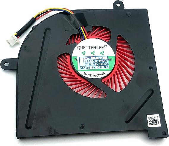 CPU GPU Fan with Hestsink for MSI GS63VR GS73VR 6RF 7RF Stealth Pro BS5005HS-U2