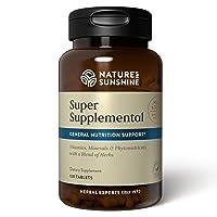 Nature's Sunshine Super Supplemental 120 Tablets