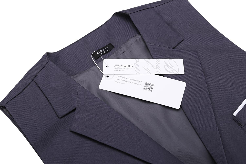 Coofandy Gilet de Costume Homme Veste Mariage Business sans Manche Solide   Amazon.fr  Vêtements et accessoires 64546112508