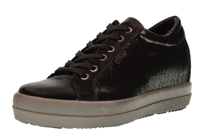 IGI&CO Zapatillas de Deporte de cuña Interior Zapatos de Mujer 87712/00: Amazon.es: Zapatos y complementos