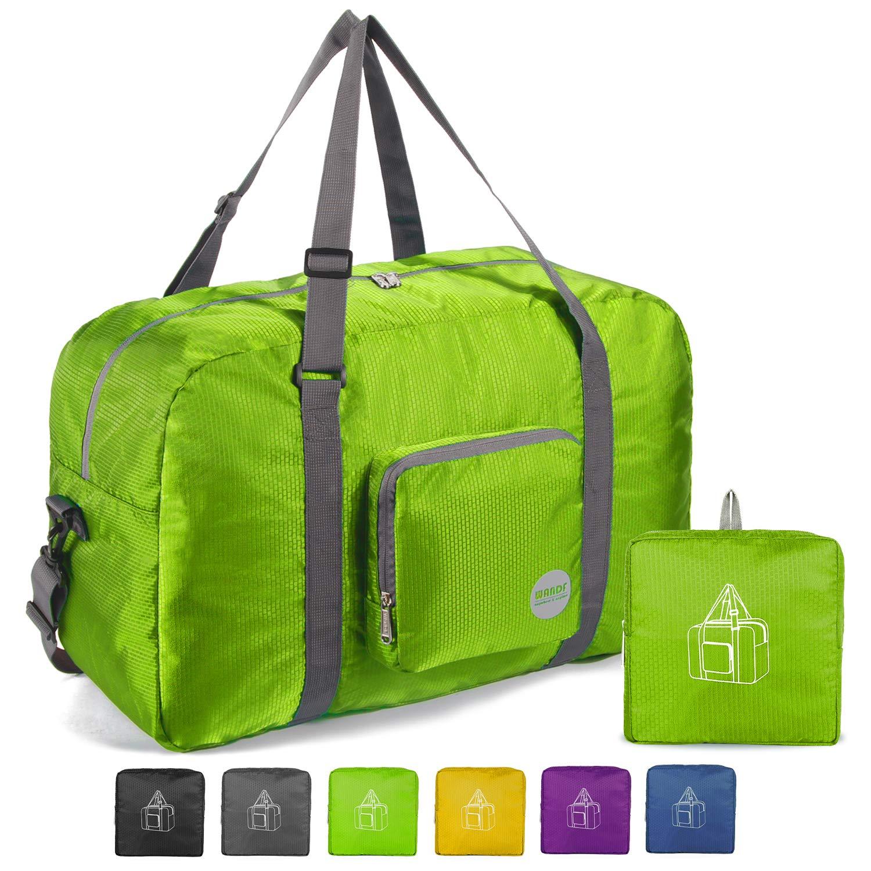 22'' Foldable Duffle Bag 50L for Travel Gym Sports Lightweight Luggage Duffel By WANDF by WANDF