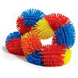 Tangle Jr. Hairy Sensory Fidget Toy, Red Orange Yellow Blue