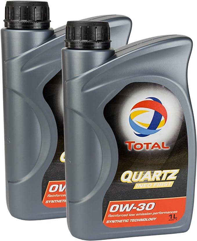 2 X Engine Oil Total Quartz Ineo First 0 W 30 1l Auto
