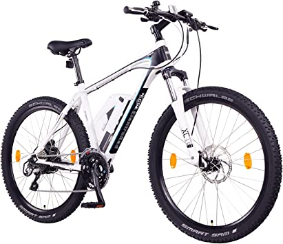 NCM Prague Plus Bicicleta eléctrica de montaña, 250W, Batería 36V ...