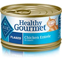24-Pack Blue Buffalo Healthy Gourmet Natural Adult Flaked Wet Cat Food
