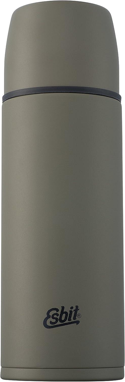 Esbit STAINLESS STEEL VACUUM FLASK 1 LTR (OLIVE GREEN)