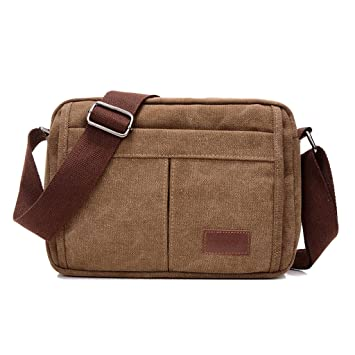 d14ce441ec Super Modern Canvas Satchel Bag Messenger bag Retro  Amazon.co.uk   Electronics