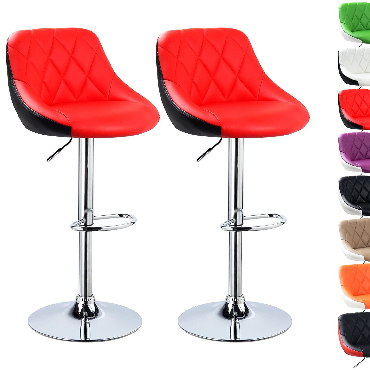 The Back Of A Chair Stool Fast Deliver The Bar Chair. Rotating Lifting Chair Hairdressing Chair Clear And Distinctive