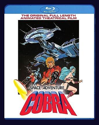 Amazon.com: Space Adventure Cobra Movie Blu Ray [Blu-ray ...