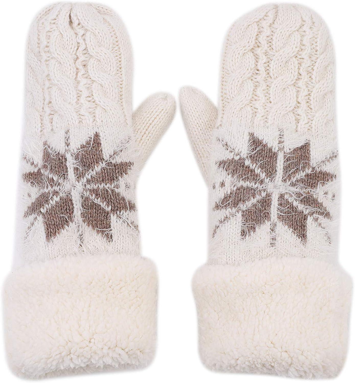 Women Warmer Gloves Knitted...