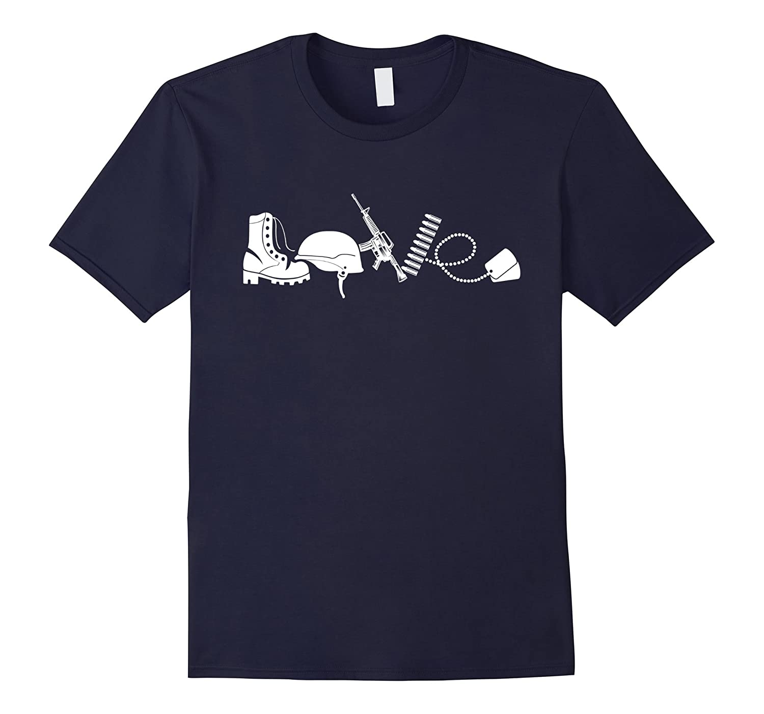 Love Army Veteran T-shirts-TH