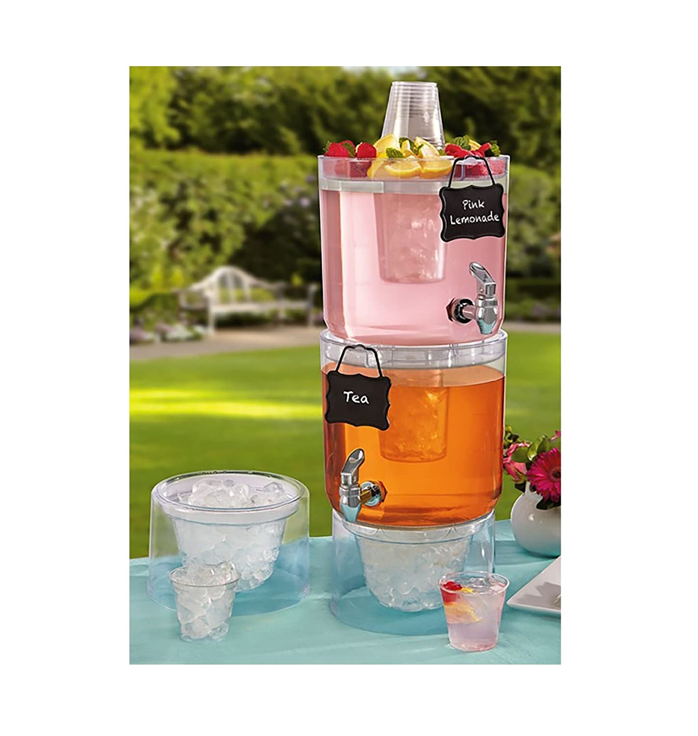 This Is A Stackable Dispenser For Parties One Of The Birthday Gift Ideas 35 Year Old Woman And She Can Use While Has Guests At Her Home
