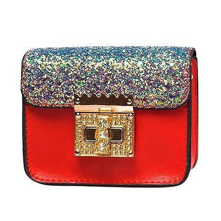 Amazon.com: Small Shoulder Bag Crossbody Bag For Women Glitter Purse Evening Messenger Bag With Chain Strap (Black): Hattfart