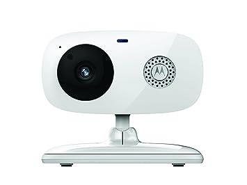Motorola Focus 66 - Cámara de Vigilancia Inalámbrica ,HD, Wifi, Interior, Fácil instalación, Detección Movimiento y Sonido, Visión Nocturna por ...