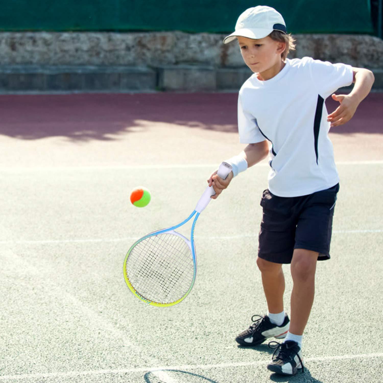 insum Junior Tennis Racquet 25'' Beginner Kids Starter (Ages 9-10) with Shoulder Strap Cover Bag by insum (Image #5)
