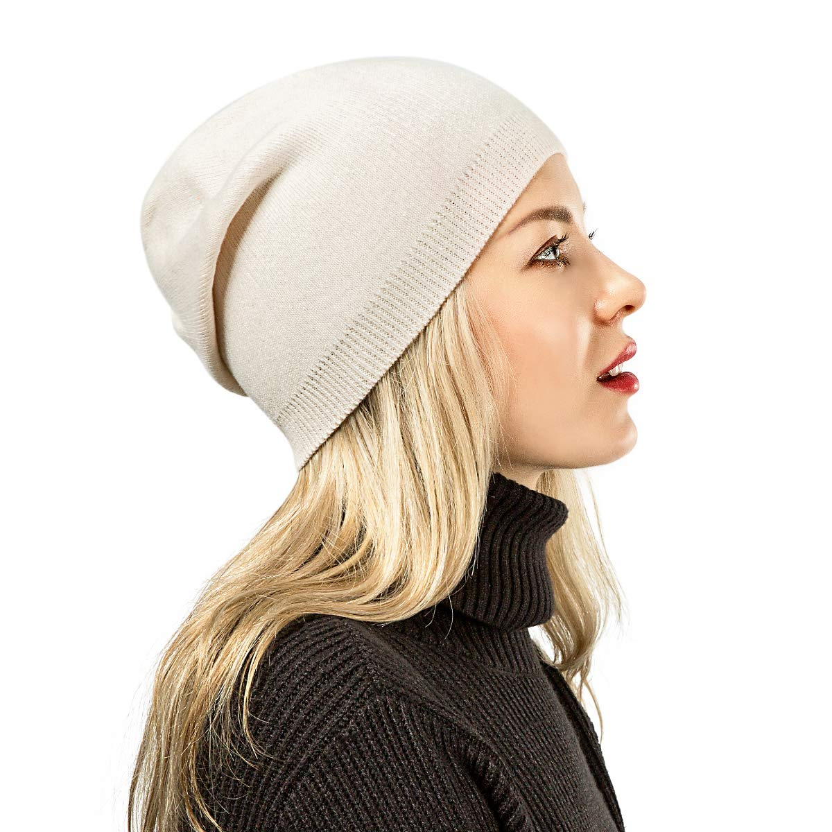 Nice Soft Wool Cap Is Stylish and Warm!