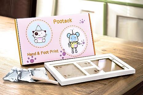 Weich Lufttrocknender Ton Baby Kinder Handabdruck Fußabdruck Impressum Casting K
