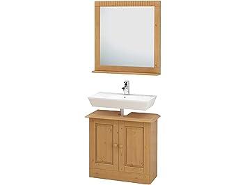 Badezimmerschrank Badschrank Unterschrank Badmöbel Küchenschrank Kiefer massiv