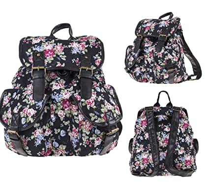 Jenny-Mall Causal Canvas Unisex Cute Floral