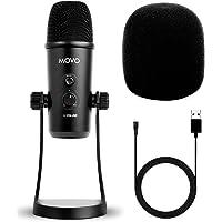 Movo UM700 Desktop USB-microfoon voor computer met verstelbare pick-up patronen perfect als een podcast microfoon…