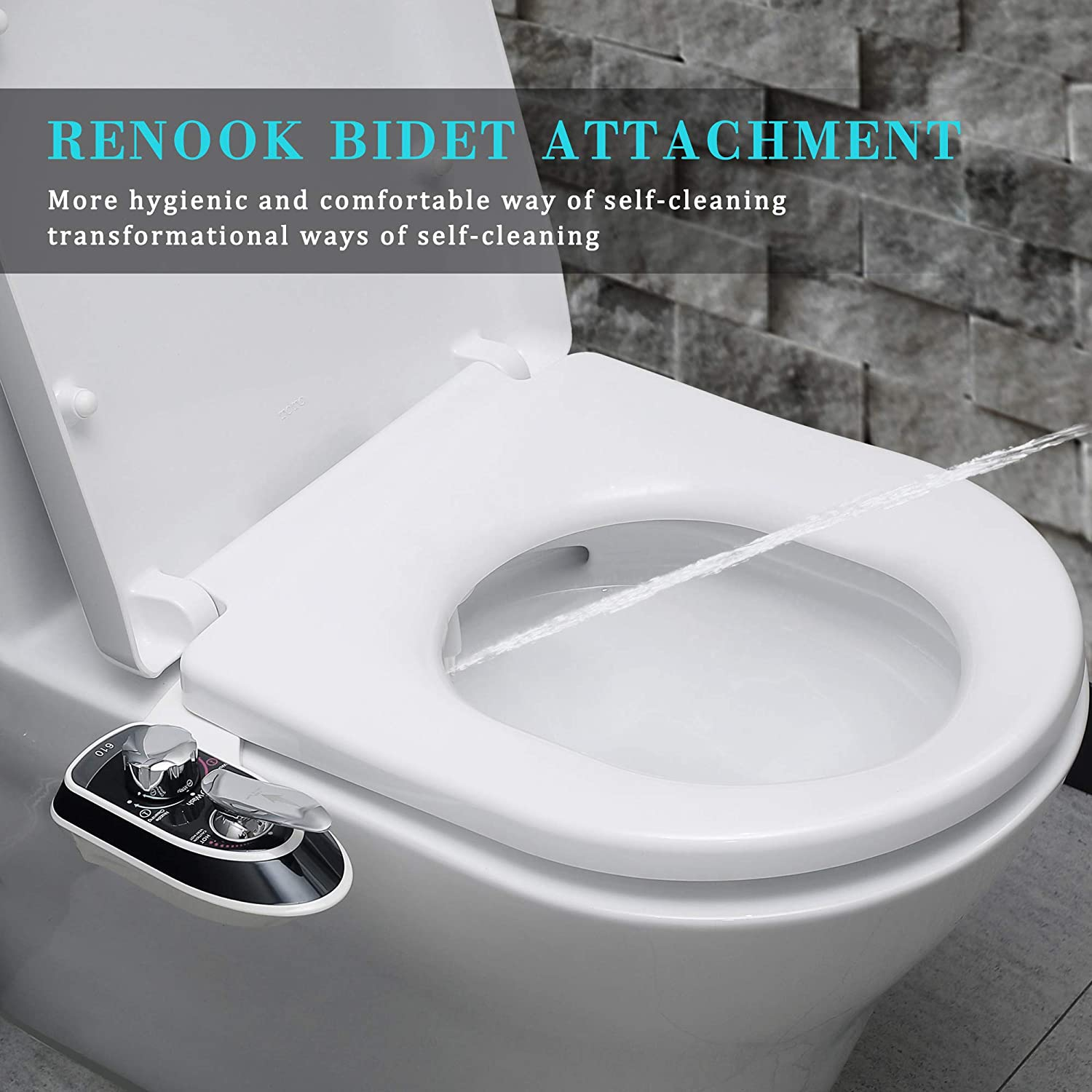 Free Amazon Promo Code 2020 for Bidet Attachment for Toilet-Self Cleaning