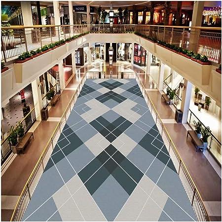 Alfombra De Pasillo Y Escalera Larga Alfombra Moderna con Diseño Geométrico Minimalista Gris - Ideal For Hotel, Cocina, Dormitorio, Piso, Etc. Longitud Personalizada (Color : Gray, Size : 0.6x3m): Amazon.es: Hogar