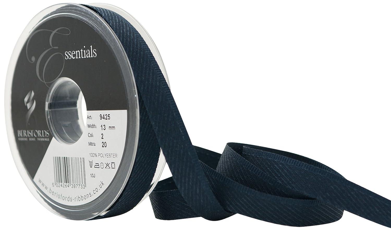 Berisfords 13 mm Kick Tape, Navy 9425-NY-13