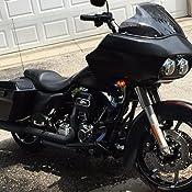 LINDBY BL109-1-15 Gloss Black Linbar Front Highway Bar Fits 2015-2016 Harley-Davidson Fltrx Road Glide Custom