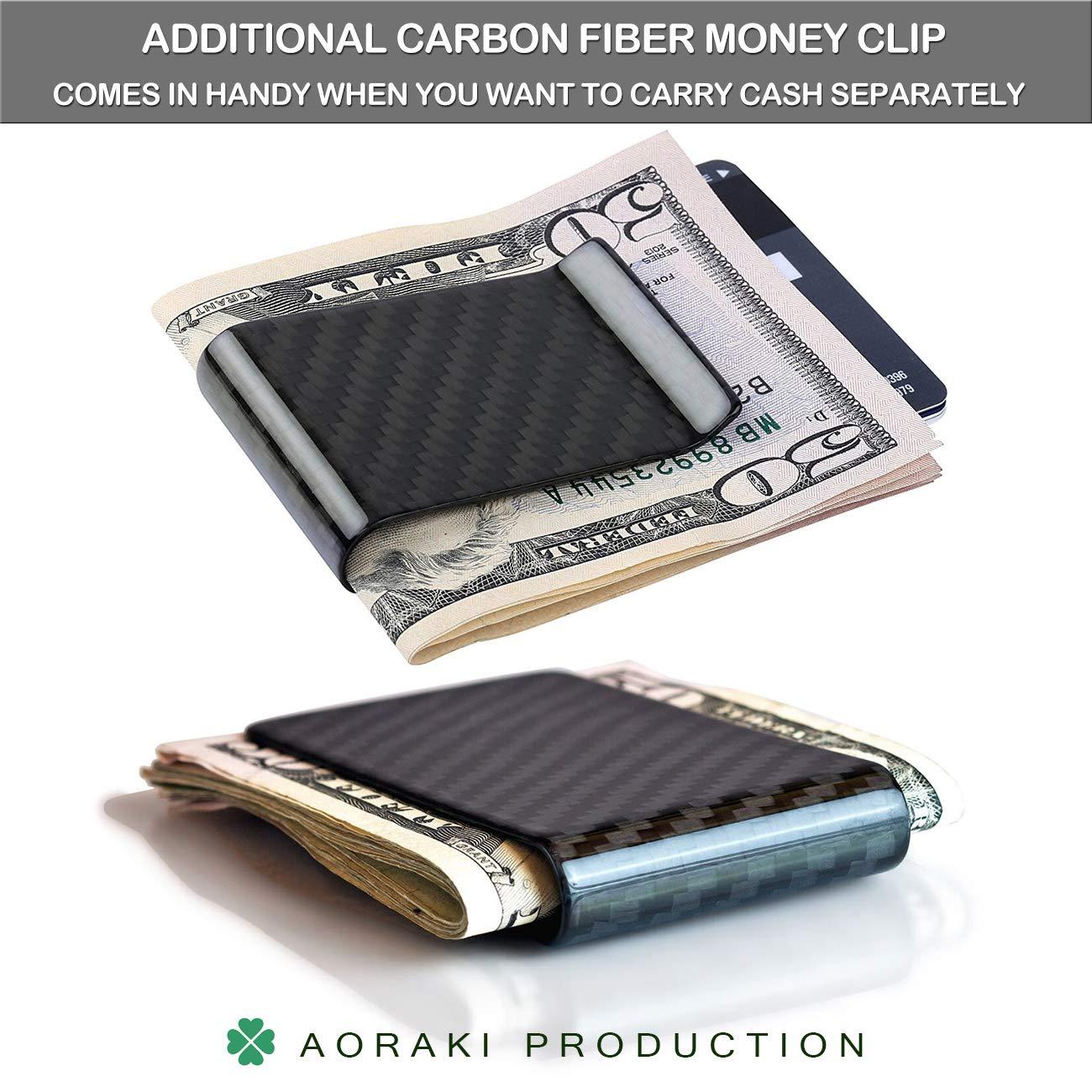 RFID Blocking Metal Wallet The Minimalist Wallets Credit Card Money Holders Clip