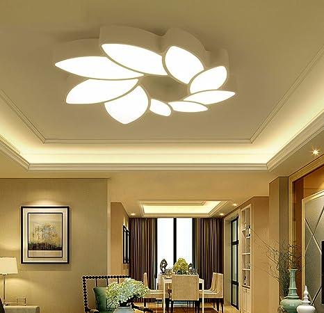 LED techo, lámpara, moderno y simple, living comedor ...