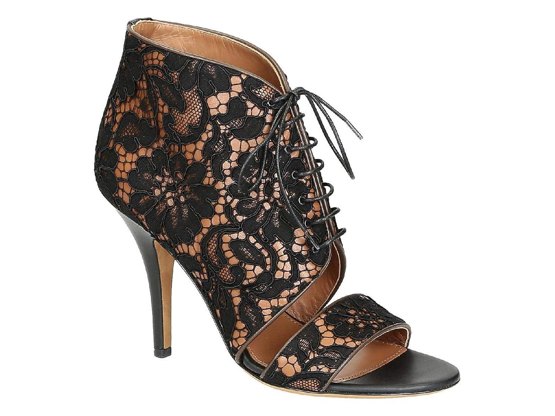 fc8a8387c712 Amazon.com  Givenchy Women s Be091993081822 Black Fabric Sandals  Shoes