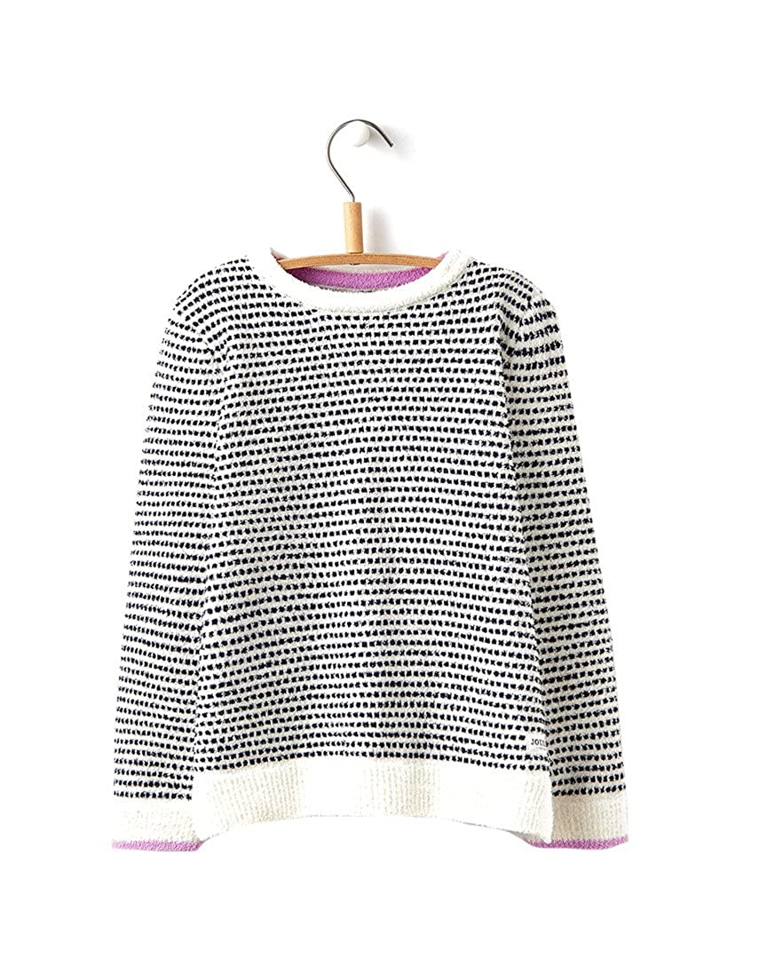 Joules Girls Seaham Chenille Knit Kids Sweater