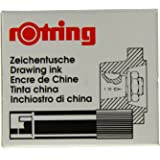 Rotring Isograph Ink Cartridges Black (Box of 5)