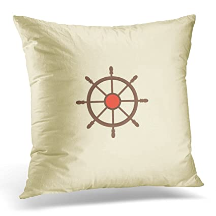 Amazon Emvency Throw Pillow Covers Brown Adventure Controlling Mesmerizing How To Clean Pillow Covers