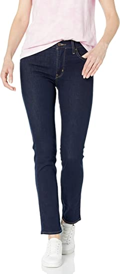 Levi's Women's 724 High Rise Straight Jeans: Amazon.ca