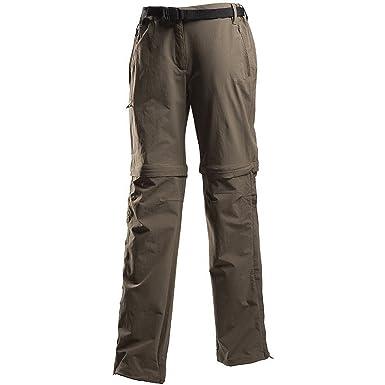 Regatta womens Regatta Womens/Ladies Xert Stretch Zip-Off Walking Pants Ii  Roasted 10