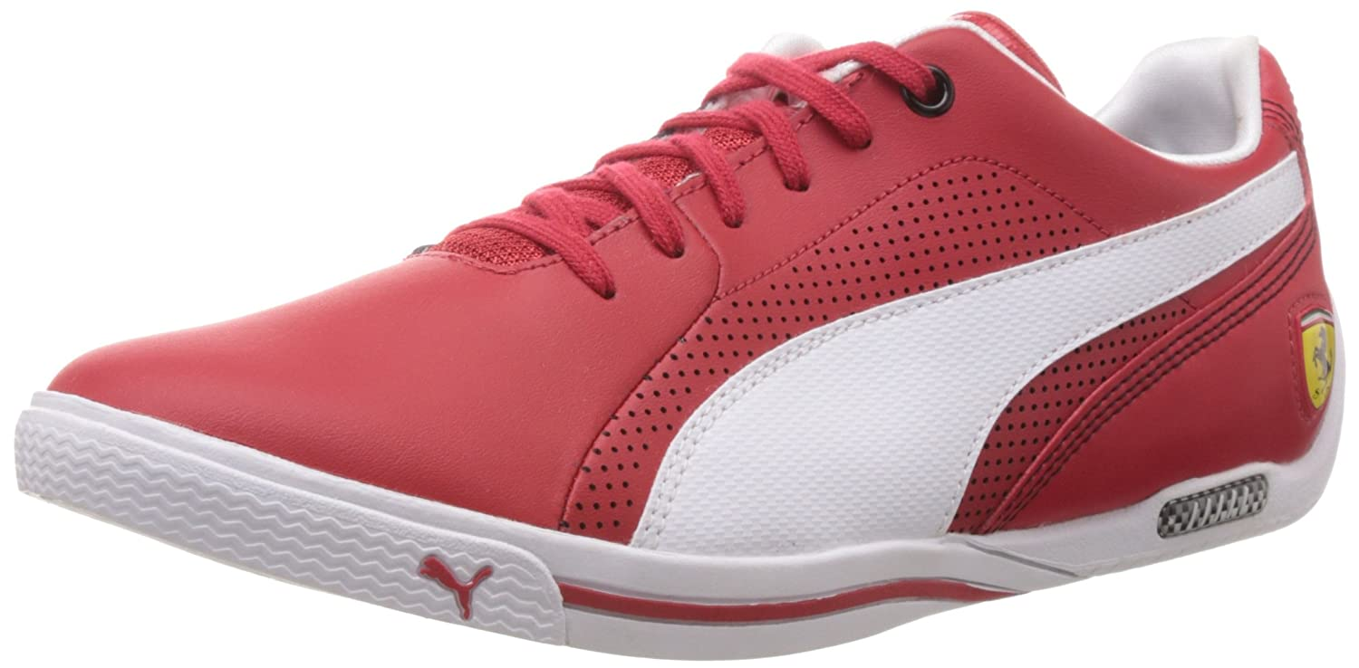 Puma Mens Selezione SF Rosso CorsaWhite Leather Running Shoes  13UKIndia 48EU Buy Online at Low Prices in India  Amazonin