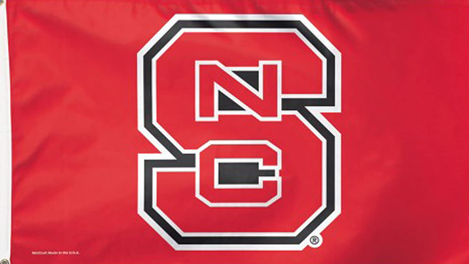 NCAA North Carolina State University 02139115 Deluxe Flag, 3' x 5'