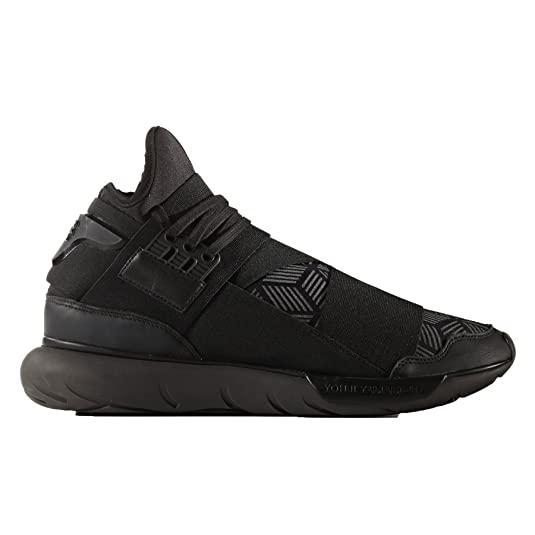 4a0ae9f93 Adidas Y-3 by Yohji Yamamoto Men s Y-3 Qasa High Core Black Utility Black Core  Black Sneaker  Amazon.ca  Shoes   Handbags